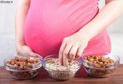 بادام زمینی و زن حامله