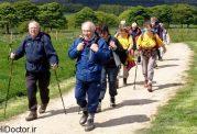 با پیاده روی گروهی بیماری  کاهش می یابد