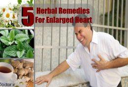 5 داروی گیاهی برای بزرگ شدن قلب