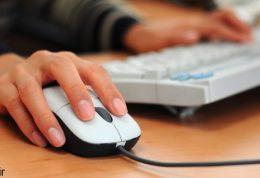 پیدایش درد در بازو ناشی از کار با رایانه