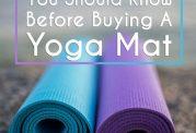 چگونه برای یوگا و ورزش, مت بخریم