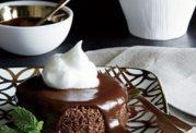 کیک قهوه ای با کالری کم و آسان