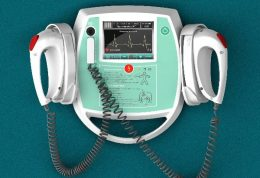 تصاویر دستگاه الکتروشوک قلب