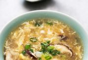 سوپ آسان و سریع-سوپ تخم مرغ