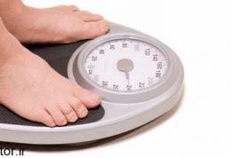 با کنترل وزن آرام شوید