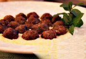 بیندی کدو همراه با کوفته - غذای ترکیه