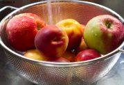 در سیب، هلو و زردآلو مقدار زیادی آفت کش وجود دارد
