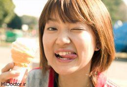 چرا پس از خوردن بستنی سرمان درد میگیرد؟