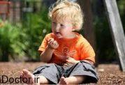 چرا فرزندم خاک خوردن را دوست دارد؟