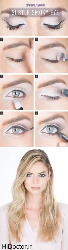 در مهمانی ها اینگونه چشمها را آرایش کنید