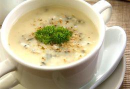 با روغن کانولا سوپ قارچ درست کنید