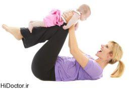 7 ورزش برای کاهش وزن پس از زایمان همراه کودک