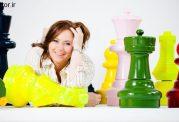 روحیات زنان و بازی شطرنج