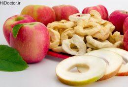 طریقه خشک کردن سیب