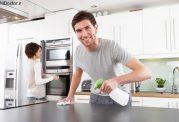 شفافیت بیشتر وسایل آشپزخانه با این روش