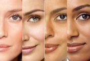 پوست صورت در افراد مختلف