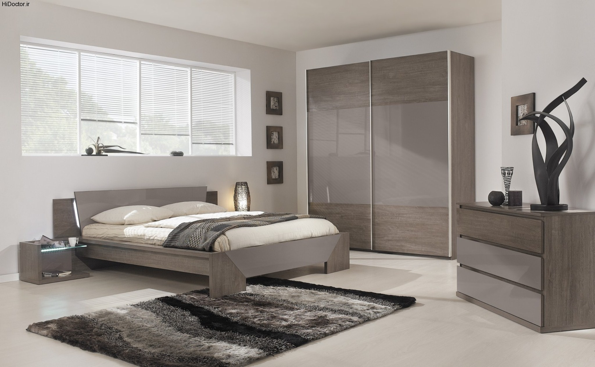 چیدمان و دکوراسیون اتاق خواب 15503 | master bedroom dresser ideas with large bedroom dresser units and elegant color schemes