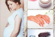 مشکلات بارداری با لاک ناخن