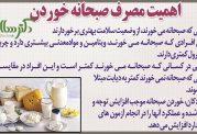 پوستر در مورد اهمیت خوردن صبحانه