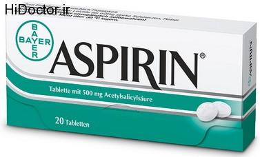 تجویز آسپرین درمان درد مزمن