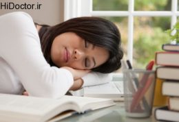 چرا زمان مطالعه خواب آلوده ایم