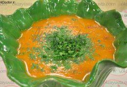 سوپ برنج و سیب زمینی