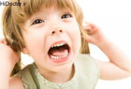 بهترین عکس العمل زمان جیغ زدن بچه
