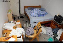 بهم ریختگی در اتاق خواب
