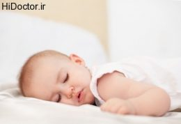 خواب یک شیرخوار سالم