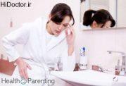 درمان طبیعی برای تهوع بارداری