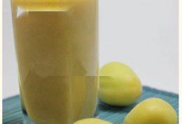 نوشیدنی دو میوه ای ترش و شیرین