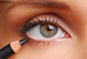 با کنترل چربی پلک،ارایش چشم  بادوام تر داشته باشید