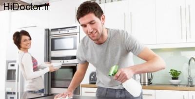 همکاری زوجین در امور منزل