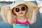 آفتاب خوردن روزانه اطفال
