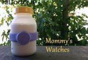 ساعتی مناسب برای شیر مادر