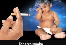 خطرات دود سیگار برای سنین پایین