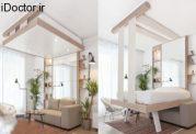 ویژگی های یک تخت خواب سقفی