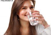 نرسیدن آب کافی به بدن و این علائم