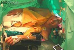 عمل جراحی همراه با آواز