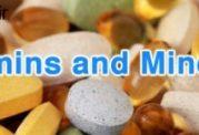 ویتامین ها و املاح معدنی در هر رده سنی