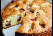 کیک با انجیر تازه