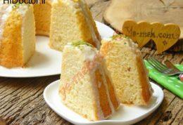 کیک با سس لیمویی به سبک کشور ترکیه
