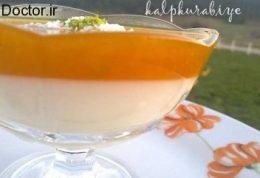 دسر کدو حلوایی با پودر نارگیل