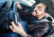 نبود آرامش به هنگام رانندگی