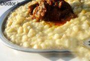 کِشکِک گوشتی غذای مخصوص ترکیه