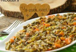 خوراک شنبلیله و هویج