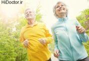 تاخیر پیری با ورزش کردن