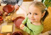 ایجاد تمایل در کودک برای میل کردن صبحانه