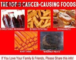 سرطان در مواد غذایی