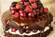 کیک بدون روغن در قابلمه